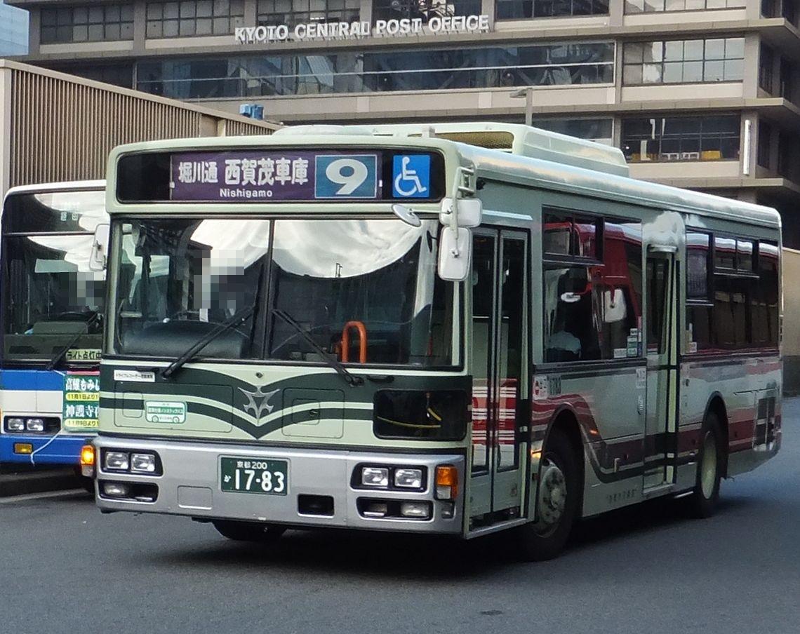 京都 市バス 9